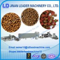 Quality dry dog/fish/cat pet food processing machine/ production line for sale