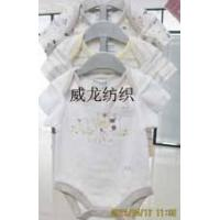 Quality baby shirt baby top Infant Romper 3 PCS Set 100% Cotton Baby Apparel for sale