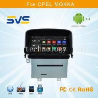 China Android 4.4 car dvd player GPS navigation for Opel Mokka car radio audio mp3 CD player on sale