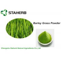Quality Water Soluble Vegetable Extract Powder , Green Barley Grass Powder Losing Weight for sale