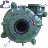 Quality Professional Rubber Lined Mining Cantilevered Horizontal Slurry Pump for sale