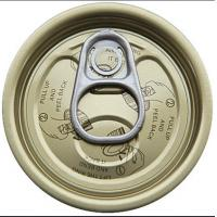 Quality 300# tinplate easy open end, EOE,tin can lids for sale
