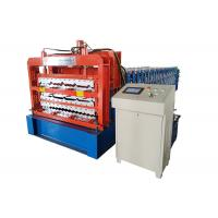 Quality 4 KW Power Roofing Sheet Roll Forming Machine For Three Roofing Sheet for sale