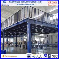 Quality Steel Platform Fully Assembled 2-3 floors with stairs used in warehouse for sale