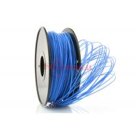 Quality Luminous blue 3D printing Filament Materials Spool For 3D Rapid Prototyping for sale