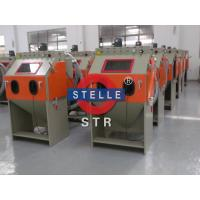 Quality Box Sand Blast Cabinet / Dustless Abrasive Blast Cabinet Burrs Residue Removing for sale