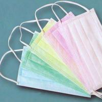 Quality Anti Pollution Disposable Mouth Mask Hospital Mouth Mask Foldable Design for sale