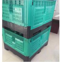 China Foldable Large Container With Collapsible Plastic Pallet Box on sale