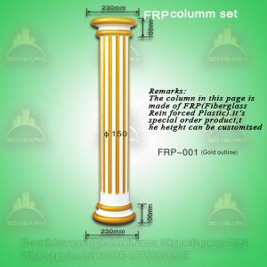 Quality Antique PU roman art pillar column for decoration for sale