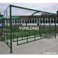 Quality Bike Metal Display Stands Outdoor Furniture In Supermarket Park for sale