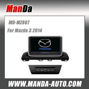 Quality Factory dvd car sat nav for Mazda 3 2014 car stereo headunits satellite gps radio bluetooth dvd car monitors for sale