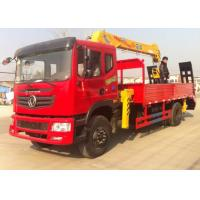 Quality Dongfeng 4x2 Truck Mounted Crane / 5 Ton Mobile Crane High Performance for sale