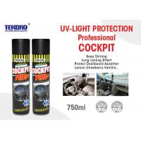 Quality Cockpit Spray Or Car Care Spray Panel / Cockpit / Leather / Tyre Protection Use for sale