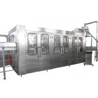 Quality High Capacity Automatic Drink Production Line 8000BPH With CE Certificate for sale