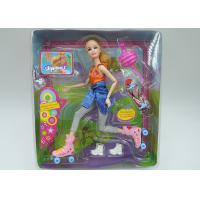 China Role Playing Children's Play Toys Barbie Fashion Doll With 11 Movable Joints on sale