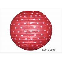 """Quality Colorful Paper Wedding Decorations , 8""""  12"""" 16"""" Hanging Paper Lanterns Craft for sale"""