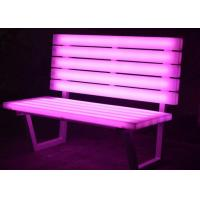 Light Up Chairs Garden Furniture , PE Plastic Glow In The Dark Chairs Images