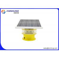 China Flash Mode Solar Powered Aviation Lights / Aircraft Obstruction Lights on sale