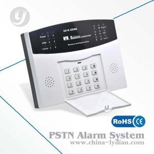 China Wireless Home Burglar Gsm Security Alarm , 433MHz Burglar Alarm on sale