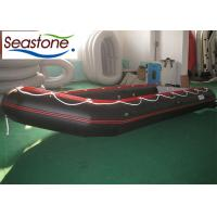 Quality Aluminium Floor Inflatable Sport Boats Anti-ski Deck Smooth V Shape for sale