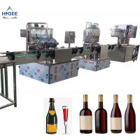 Buy cheap Alcohoclic Automatic Liquid Bottle Filling Machine 12 Washing Head CE Approval from wholesalers