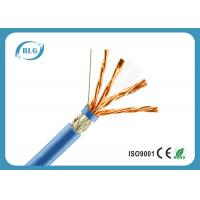 Quality High Speed Cat 7 Ethernet Cable 1000 FT / Blue Cat7 Bulk Network Cable for sale