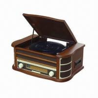 Quality Wooden Retro Style Radio with USB and Encoding, Cassette, CD, MP3 Player Functions  for sale