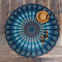 Quality Round Beach Throw Tapestry Hippy Boho Gypsy Cotton Tablecloth Beach Towel for sale