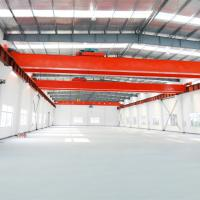 Quality 20T 30T European Style Double Girder Overhead Crane For Lifting Steel Billet for sale