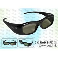 Quality Light weighted 3D TV IR Active Shutter Glasses for sale