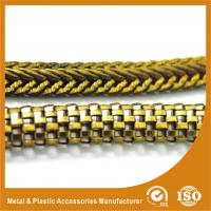 China High Grade Lantern Gold Handbag Chain For Bag Handles Decorative Metal Chain on sale