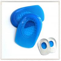 Quality Massage foot care Silicone Cushion Gel Heel Pad for sale