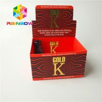 China Matte Surface Finish Herbal Incense Packaging Boxes Cigar Tobacco Coated Paper Box on sale