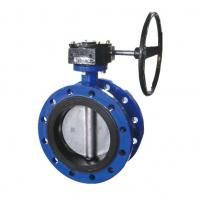 Quality Small Water Butterfly Valve Butterfly Control Valve Nylon Coated Cast Iron for sale