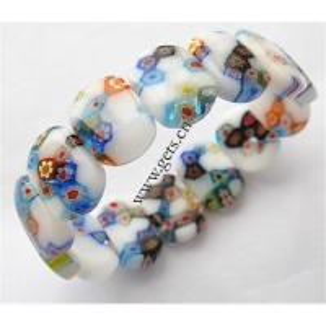 China Venetian glass bracelet on sale