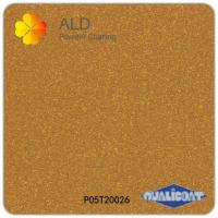 Quality metallic gold thermosetting spray electrostatic powder coating paint for sale