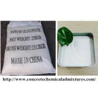 China High Purity Gluconic Acid Sodium Salt 98% Industrial Grade White Powder on sale