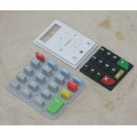 Quality Durable Silicone Rubber Mobile Phone Keypad , Single Membrane Switch Keypad for sale