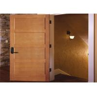 China Customized Inside Solid Wood Doors Swing Open Style Durable Hardware Long Lifespan on sale