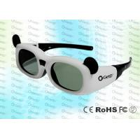 Quality 144Hz Children 0.7Ma Style DLP Link Active Shutter 3D Glasses With CR2032 Lithium Battery for sale