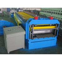Quality Automatic Metal Glazed Roof Tile Roll Forming Machine Siemens PLC Control for Mexico Market for sale