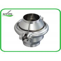 Quality High Sanitation Sanitary Check Valve For Water Pipelines , Weld Connection End for sale