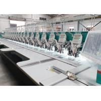 China Large Scale Cap Embroidery Machine / Industrial Computer Embroidery Machines LCD Display on sale