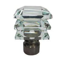 Buy cheap Crystal Caps Curtain Rods (JK-2629) from wholesalers