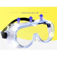 Quality Dust Protection PPE Safety Eye Protection Goggles UV Blocking OEM Accepted for sale