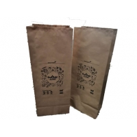 China paper yard waste bags Paper Trash Bag recyclable compostable moisture resistant Multiwall self standing on sale