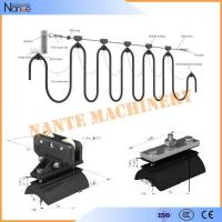 Quality Wire Rope C Track Festoon System , Round Cable Roller / Trolley Festoon Cable Trolley System for sale