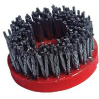Quality High Speed Diamond Abrasive Brush Plastic Backed Excellent Polishing Performance for sale
