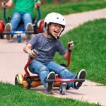 Safe Holder Stand Youth Racing Go Karts , Hover Kart For Hoverboard