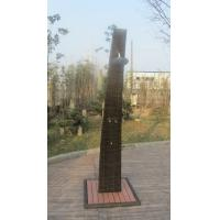 Quality Strong All Weather Brown Shower With PE Rattan , Steel frame for sale